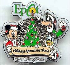WDW Epcot Holidays Around The World 2003: Fab 3 LE Pin