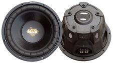 NEW Lanzar MAXP84 Max Pro 8'' 800 Watt Small Enclosure 4 Ohm Subwoofer