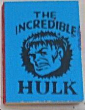 1966 MARVEL MINI BOOK INCREDIBLE HULK BLUE NM RARE GIVEAWAY PROMO PROMOTIONAL