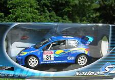 SOLIDO 1/18 PEUGEOT 206 WRC SIMON J JOSEPH 31 BLEU 9032