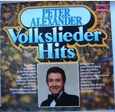 Peter Alexander VOLKSLIEDER HITS - Vinyl LP     NM