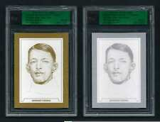 Set of Two GEORGES VEZINA 2011 ITG Hockey Cards ------ Gold & Silver