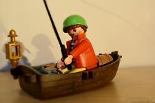 Pirat mit Ruderboot 1 Playmobil 3570 Erstveröffentlichung 1979