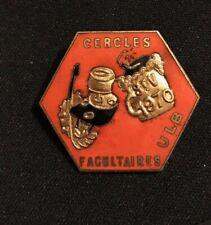 Medaille Saint Verhaegen 1970 ULB Cercles facultaires étudiants studenten