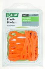Plastic Blades for Florabest Lidl Gardenline Grizzly Gude Terratek Ikra Vonhaus