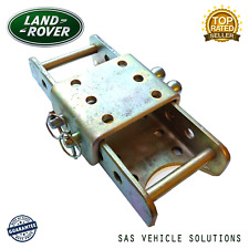 ADJUSTABLE TOW HITCH 370mm 3500kg DROP PLATE LAND ROVER 4X4 TRUCKS TOWING TOWBAR