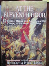 History Book about the Ending WW1 Armistice 1918 - At the 11th Hour Cecil Liddle
