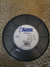 Ande Premium Mono Line Clear 80# 2Lb Spool PC-2-80