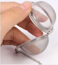 Tea ball Loose Tea Leaf Strainer Herbal Spice Infuser Filter Diffuse fine mesh