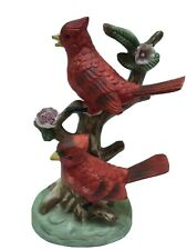 red cardinal birds figurine by Royal Meridian good condition