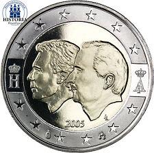 Belgien 2 Euro Gedenkmünze 2005 PP Wirtschaftsunion mit Luxemburg im Etui