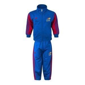 "Kansas Jayhawks NCAA Blue ""Full 90"" Full Zip Track Jacket & Pants Set Boys (4-7)"