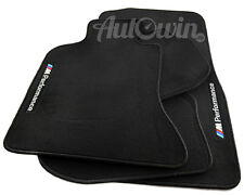 BMW Z4 Series E85 Black Floor Mats With ///M Performance Emblem LHD Clips