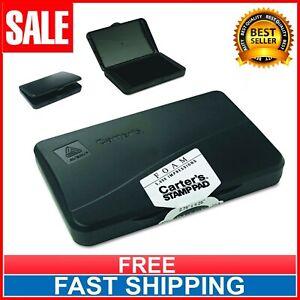 Carter's Stamp Pad Black Ink (21381) 166850 Black Ink Pad Rubber Stamp Foam Eco