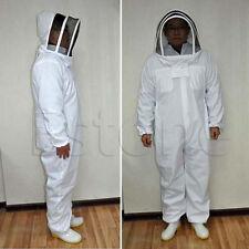 Beekeeping Protective Equipment Veil Bee Keeping FULL BODY Suit Hat Smock  XXL