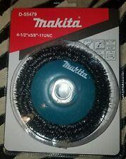 """MAKITA D-55479 4 1/2"""" X 5/8""""-11 UNC CRIMPED WIRE WHEEL BRUSH"""