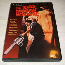 THE TEXAS CHAINSAW MASSACRE DVD PIONEER SPECIAL EDITION