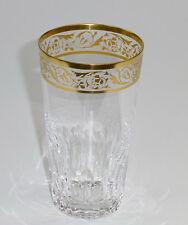 Wasserglas Becher Josephinenhütte 1950+ Serie GARDY Ätzgoldrand Trinkglas
