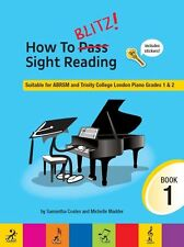 How To Blitz Sight Reading Learn to Play Beginner Easy Read Music Tutor Book 1