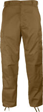 BDU Cargo Pants Fatigue Military Coyote Brown 8522 Rothco