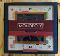 Monopoly Luxury Edition Collectible Board Game Wood/Faux New in Box