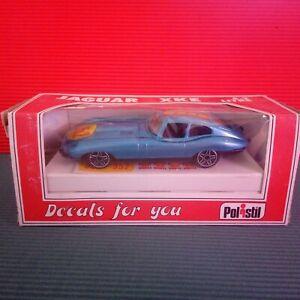 Modellino DIE CAST Jaguar XKE 4.2 Litre E 2001 Polistil 1/41