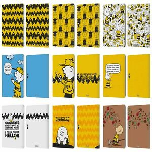 OFFICIAL PEANUTS CHARLIE BROWN LEATHER BOOK CASE FOR MICROSOFT SURFACE TABLETS
