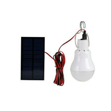 Portable Solar LED Bulb With 0.8W Solar Panel Kit Emergency light For Outdoor