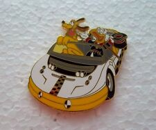*~*DISNEY WDW FOUR PARKS ONE WORLD SCROOGE & PLUTO TEST TRACK CAR PIN*~*
