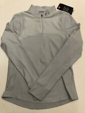Under Armour New Qualifier 1/2 Zip Long Sleeve Shirt Women's Small 1326512 $60