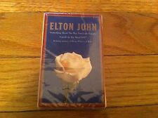 Something About the Way You Look Tonight/Candle in Wind Elton John NEW Cassette