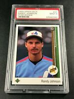 RANDY JOHNSON 1989 UPPER DECK #25 STAR ROOKIE RC PSA 9 MLB HALL OF FAMER