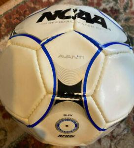 Wilson Avanti Official NCAA Match Soccer Ball White/Blue/Black turf use only