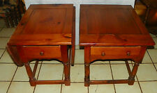 Pair of Mid Century Mersman Pine End Tables / Side Tables (Ships GPX) (RP-T517)