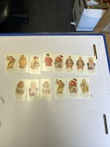 13 Card Lot 2007 Topps Allen Ginter Legends Mini WWE Superstars Rowdy Sheik ++