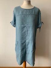Peacocks Chambray Denim Type Tunic Dress Sizes Available: 12, 14, 16