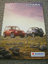 ORIGINAL SUZUKI VITARA 1.6 SOFT-TOP/ESTATE/3-DOOR SALES BROCHURE 1997