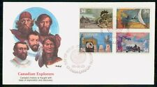 MayfairStamps Canada Fdc 1986 Canadian Explorers Fleetwood First Day Cover Wwf96