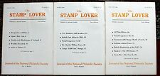 Stamp Lover Magazine – Full Set 1966 (6 issues) Jammed with Info (St-4)