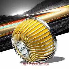 """3.00"""" Universal Yellow Bar Mesh Mushroom Micro Foam Air Filter For Air Intake"""