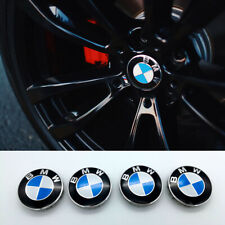 4 X 55MM BMW Nabendeckel Radnaben Nabenkappen Radkappe Felgendeckel Embleme