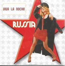 RUSSIA - Viva la noche CD SINGLE 1TR Promo Cardsleeve Eurodance 2003 SPAIN