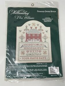 NEW Elsa Williams Williamsburg Ann Green Sampler Counted Cross Stitch 29102