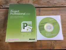 MS Project Professional 2010, Retail Vollversion mit MwSt-Rechnung