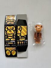 Baby Milo Chimp 100% Kubrick BAPE A Bathing Ape Limited Bearbrick Series 003 S3