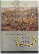 The Atlanta Cyclorama of the Battle of Atlanta in Mailer Civil War 1954