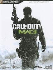 Call of Duty Modern Warfare 3 Strategy Guide BradyGames MW3