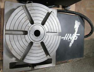 "HAAS HRT-9 Rotary Table (9"" Diameter) DC Motor w/ Servo Control"
