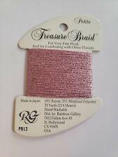 Rainbow Gallery Thread Petite Treasure Braid PB13 new cross stitch embroidery