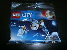 POLYBAG LEGO CITY Réf: 30365 - ASTRONAUTE + SATELLITE - Neuf scellé